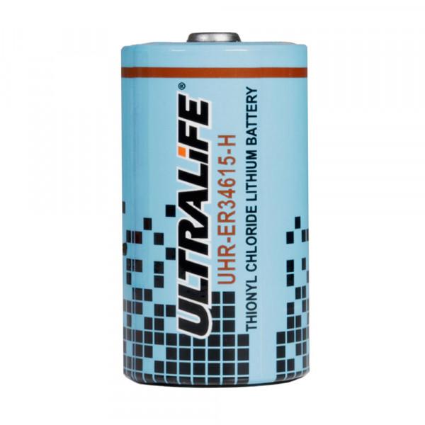 Ultralife UHR-ER34615-H spiraalcel – D ronde cel hoogstroom lithiumthionylchloride 3,6V 14500mAh Gev