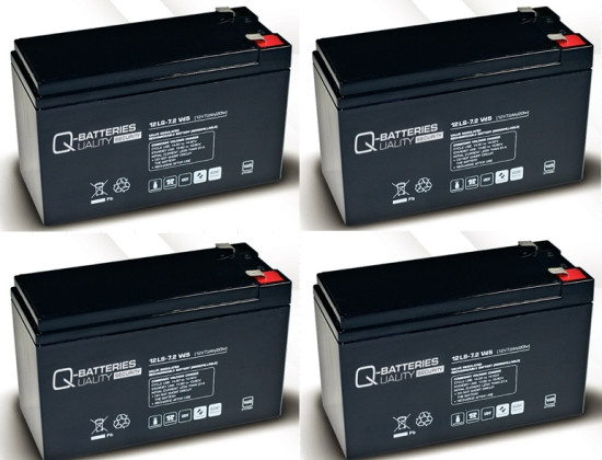Vervangende batterij voor APC Matrix-UPS MX3000 W APC Smart Cell/brand batterij met VdS