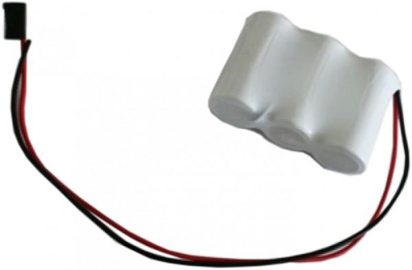Batterij pack 3.6V 2500mAh serie NiCd F3x1 3xC hoge temperatuur cellen/kabel