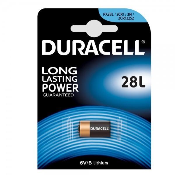Duracell PX 28L lithium foto batterij (1 blister)