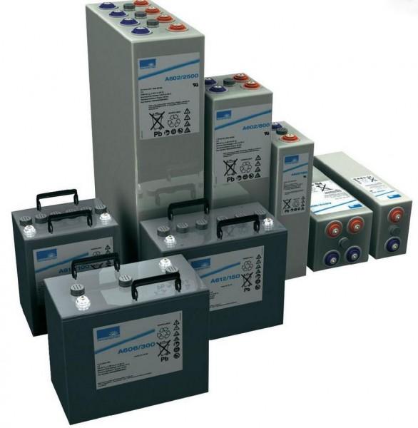 Exide Sonnenschein A602/750 2V 750 Ah (C10) dryfit lead gel accu VRLA