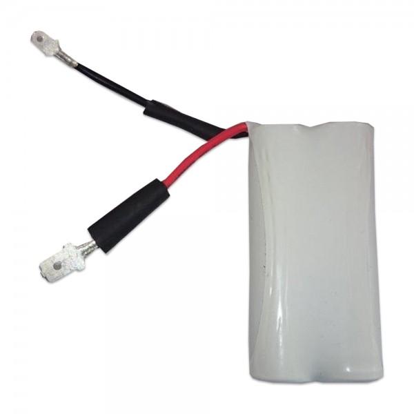 Batterij pack 2,4V 4000mAh serie NiMH F2x1 2x4/3-A Faston hoge temperatuur cel +6.3/-4,8
