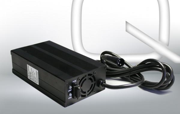 Q-Batteries BL 24-10 Oplader XLR stekker voor loodaccus 24V – 10A Oplaadstroom IU0U Oplaadkarakteris