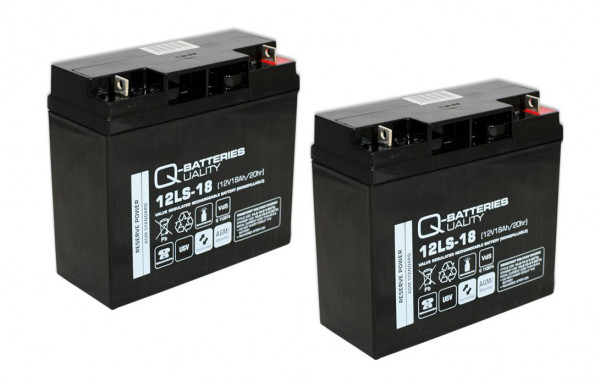 Vervangingsbatterij voor beste Power Fortress I LI 1020VA RM/brandbatterij met VdS