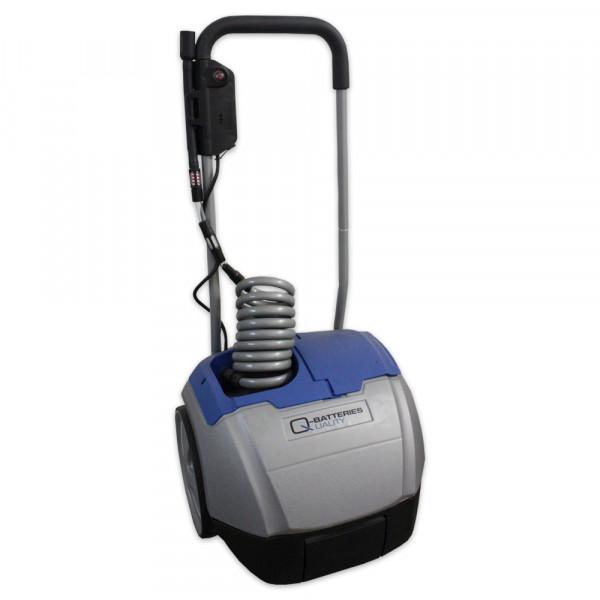 Aquamatik Trolley 26 l mobiele waterwagen met pomp voor batterijen incl. lader 230V