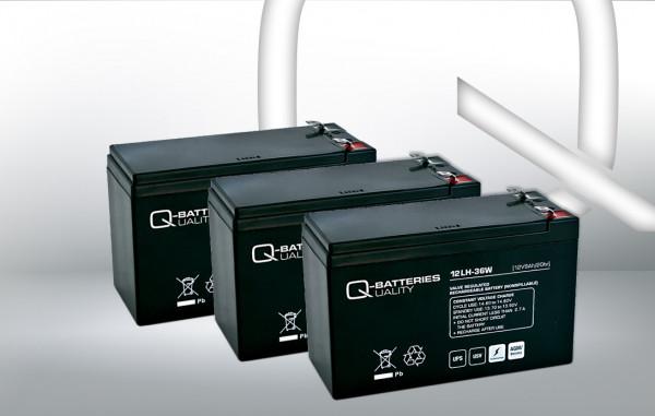 Vervangingsbatterij voor Best Power Fortress III 1050VA RM UPS-systeem
