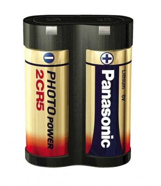 Panasonic 2CR5 6V foto Power Lithium Batterij (1 blisterverpakking)