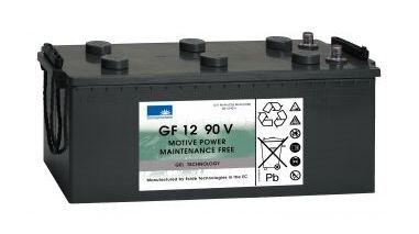 Exide Sonnenschein GF 12 090 V dryfit gel drive accu 12V 90 Ah (5h) VRLA