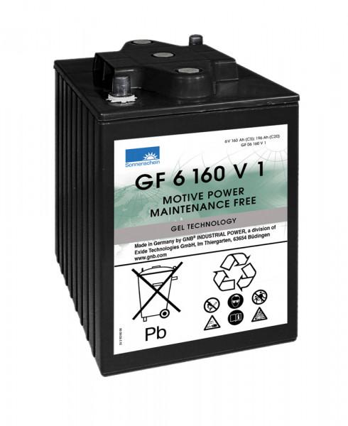 Exide Sonnenschein GF 06 160 V1 dryfit loodgel tractie accu 6V 160 Ah (5h) VRLA