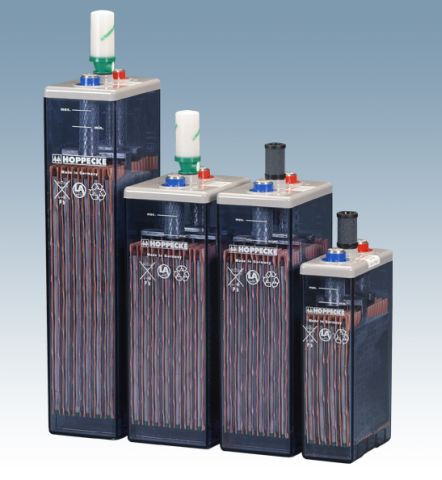Hoppecke 6 OPzS 420/2V 468 Ah (C10) gesloten blok batterij