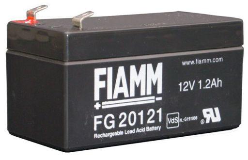 FIAMM FG20121 12V 1,2 Ah loodaccu/loodaccu/AGM lood non spillable VdS