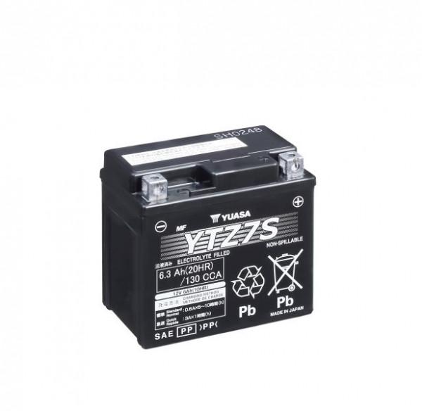 Yuasa YTZ7S WC Motor accu Factory activated (YTZ7S) onderhoudsvrij