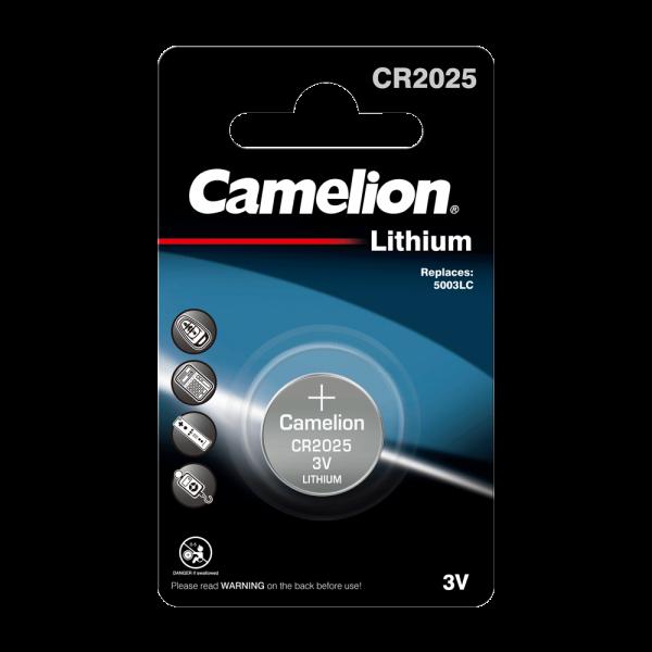 Camelion CR2025 lithiumknopcel (1 blisterverpakking) UN3090