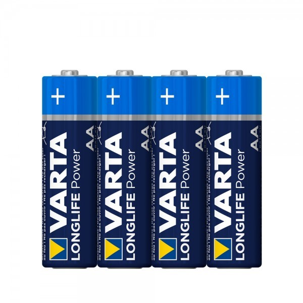 VARTA Longlife Power Mignon AA Battery 4906 LR06 (4 folie)