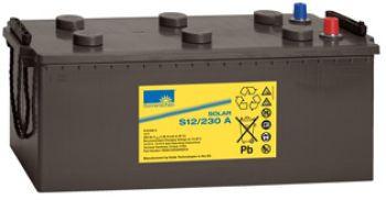 Exide Sonnenschein Solar S12/230 A Lead Gel Battery 12V 230 Ah