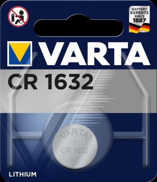 VARTA Electronics CR1632 lithium foto batterij 3V (1 blister)