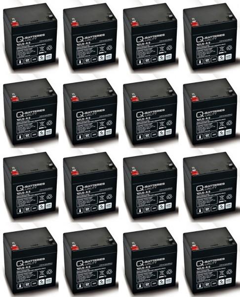 Vervangende batterij voor APC Smart-UPS RT SURT6000XLI RBC44 RBC140