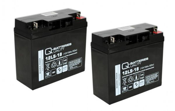 Vervangingsbatterij voor APC Smart-UPS SU1400I RBC7 RBC 7/brandbatterij met VdS