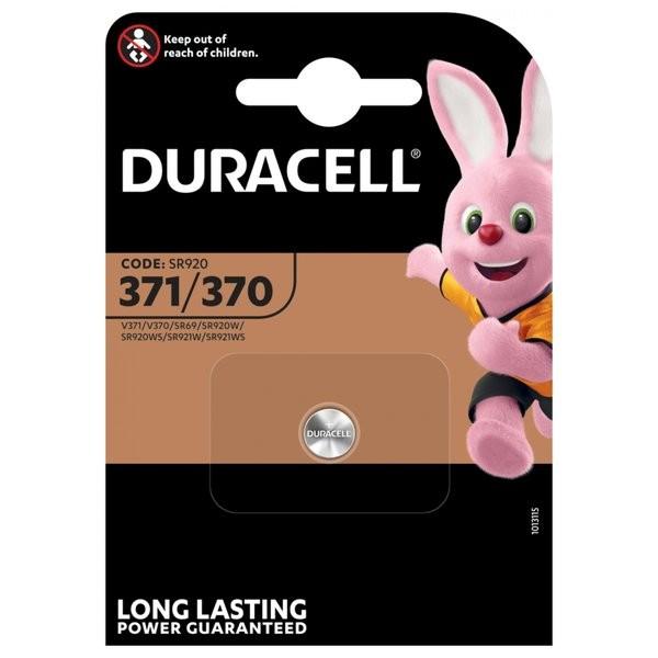 Duracell D 371/370 SR69 horloge knoopcel zilveroxide 40mAh 1.55V (1 blister)