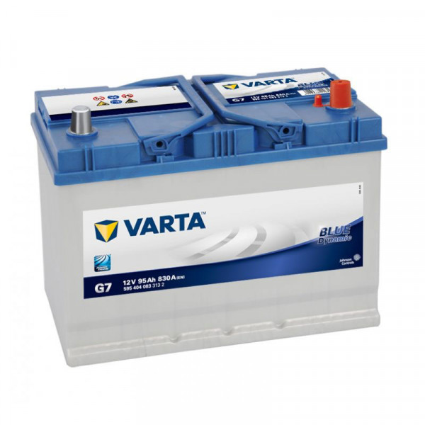 VARTA BLUE Dynamic 595 404 083 3132 G7 12Volt 95 Ah 830A/EN start accu