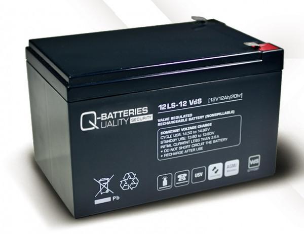 Vervangingsbatterij voor APC Back-UPS Pro BP650SI RBC4 RBC 4/brandbatterij met VdS