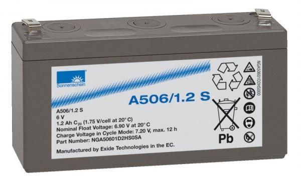 sonnenschein A506/1,2 S 6V 1,2 Ah dryfit loodgel accu VRLA