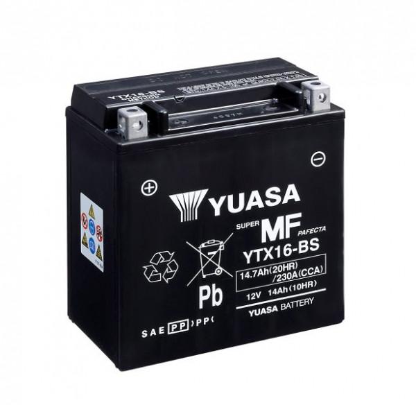 Yuasa YTX16-BS YU motorbatterij (batterij)