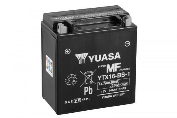 Yuasa YTX16-BS-1 YU motorbatterij (batterij)