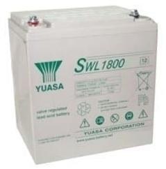 Yuasa SWL1800 55 Ah (10h) met 1800 Watt 12V lood accu SWL serie AGM accu