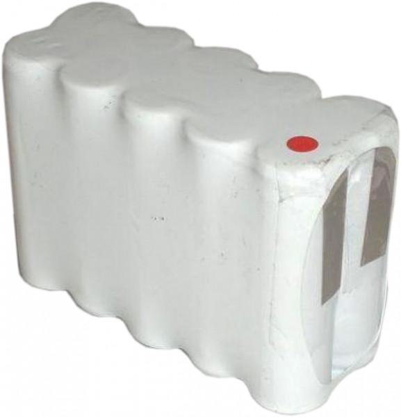 Batterij pack 12V 800mAh D serie NiCd F5x2 10xAA hoge temperatuur cellen/solder vlaggen