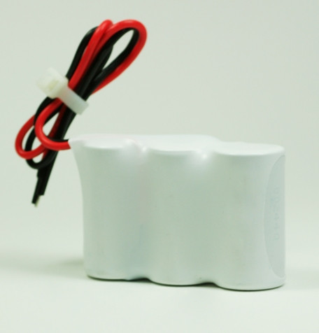 Batterijpakket 3.6V 1800mAh serie NiCd F3x1 3xSub-C Hoge temperatuur cellen/kabel