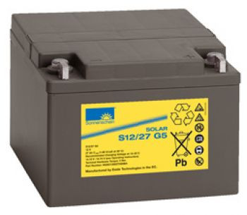 Exide Sonnenschein Solar S12/27 G5 Lead Gel Battery 12V 27 Ah