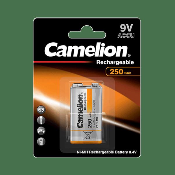 Camelion batterij 9V blok 250mAh NiMH (1er Blister)