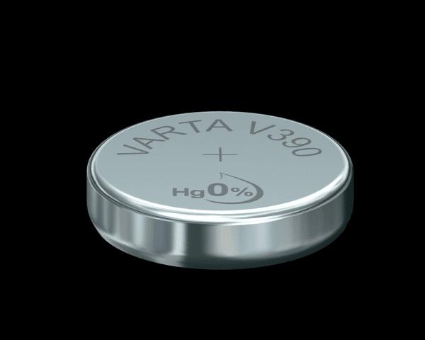 VARTA Watch V390 SR54 1.55 V Watch batterij 80mAh (1 Blister)