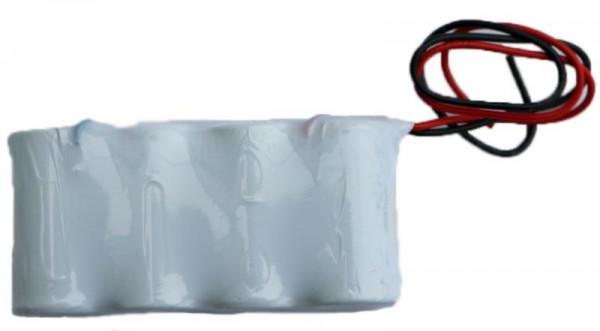 Batterijpakket 4.8V 1800mAh serie NiCd F4x1 4xSub-C Hoge temperatuur cellen/kabel