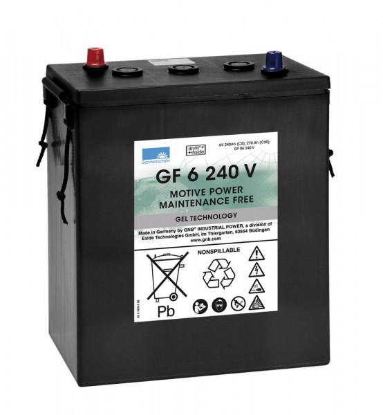 Exide Sonnenschein GF 06 240 V dryfit gel drive accu 6V 240 Ah (5h) VRLA