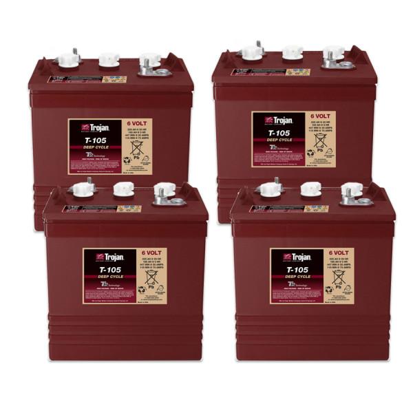 Vervangingsbatterij voor JLG-werkplatform 2046E 24V-batterij – batterij (set)