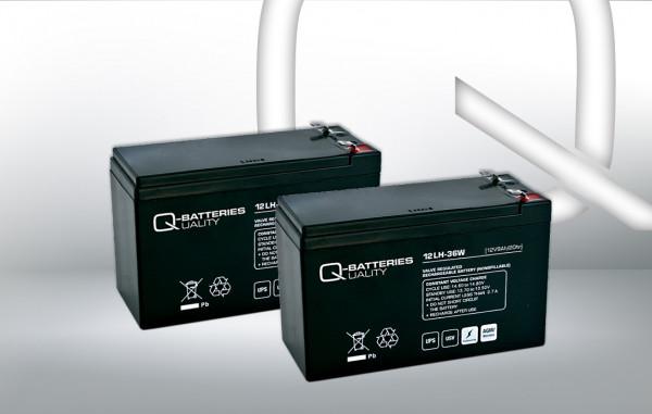 Vervangingsbatterij voor Best Power Fortress III 750VA RM UPS-systeem