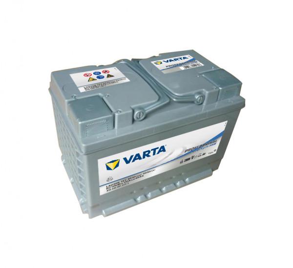 Varta LAD60B Professional Deep Cycle AGM accu 12V 60Ah 464A