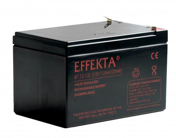 EFFEKTA BT 12-12/12V 12 Ah loodaccu/lood non spillable accu AGM VRLA