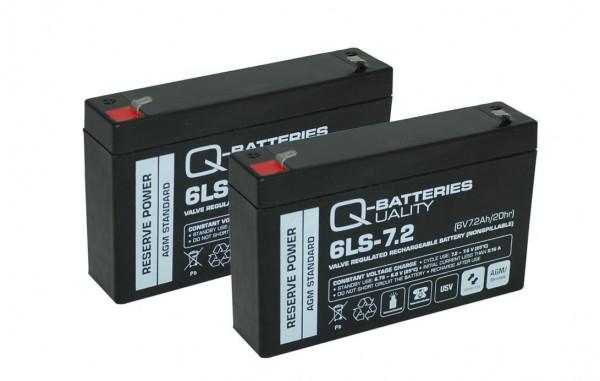 Vervangende batterij voor APC Smart-UPS SC SC450RMI1U RBC18