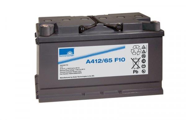 Exide sonnenschein A412/65 F10 12V 65 Ah dryfit loodgel accu VRLA