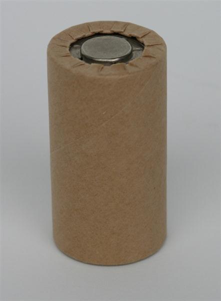 Sanyo N-2500 SCR in cardboard jacket 1.2V 2500mAh NiCd 43 H x 23Ø mm KR-SC Nickel-Cadmium