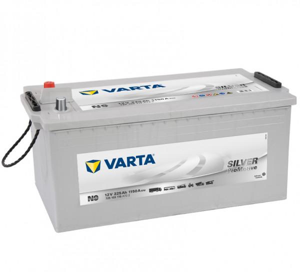 VARTA Promotive SHD 725 103 115 A722 N9 12Volt 225 Ah 1150A/EN start accu