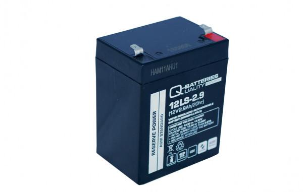 Q-Batteries 12LS-2.9 12V 2,9 Ah Lead non spillable accu/AGM VRLA