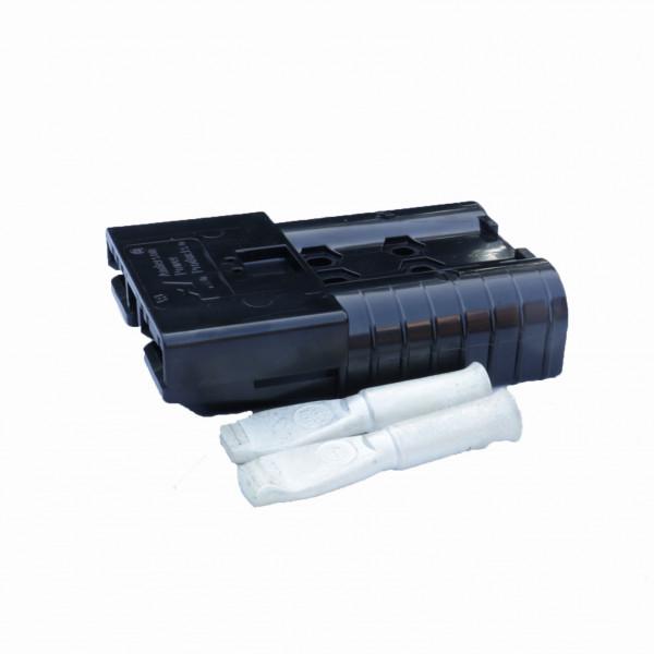 Anderson platte stekker SBE 320A zwart, stekker incl. 2 hoofdcontacten, 80 V, 70 mm² (of vergelijkba