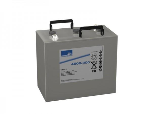 Exide Sonnenschein A606/300 6V 300 Ah (C10) dryfit lead gel accu VRLA