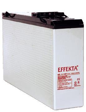 EFFEKTA BTL 12-105F 12V 105 Ah front terminal lood accu/lood non spillable accu AGM VRLA
