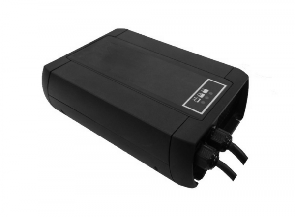 Q-Batteries energiebesparende hoogfrequente lader 24V 15A voor Gel door S.P.E. Charger CBHD1 GEL inc