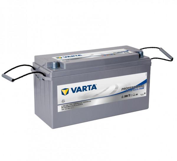 Varta LAD150 Professional Deep Cycle AGM accu 12V 150Ah 825A